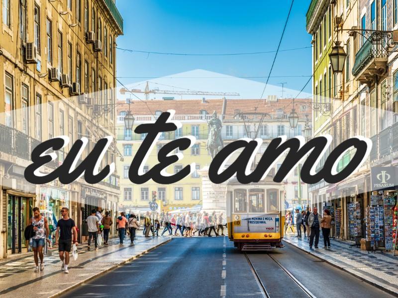 'I Love You' in Portuguese