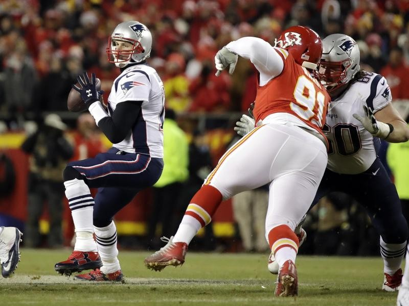 Tom Brady and Patriots play in AFC championship game