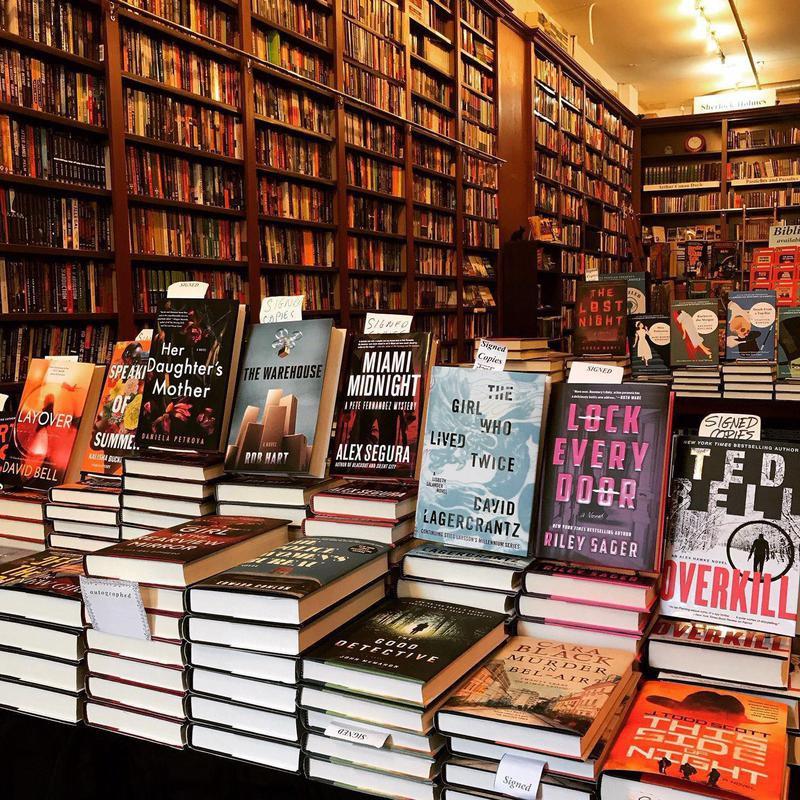 Mysterious Bookshop NYC