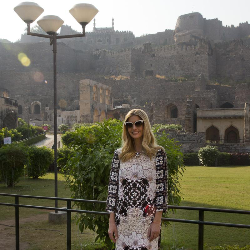 Ivanka Trump in India