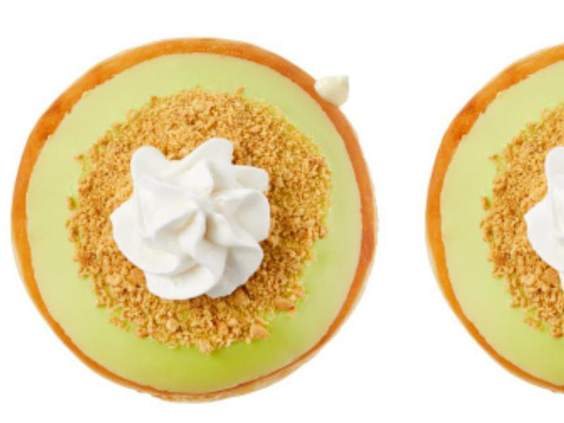 Key Lime Pie Krispy Kreme