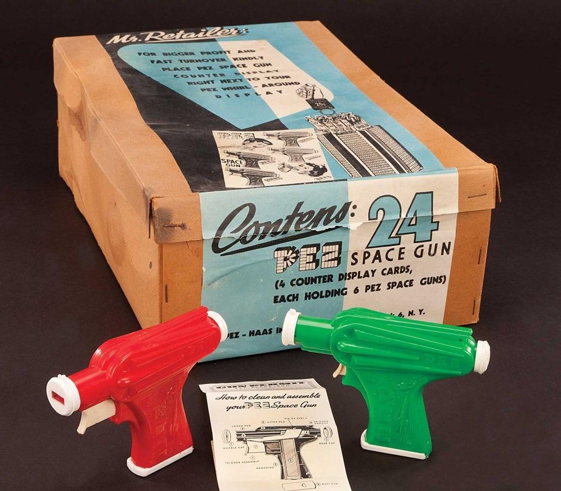 1950s Pez Space Ray Guns