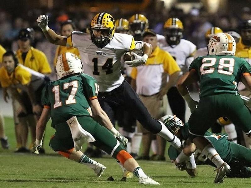 Lincolnton High wide receiver Sage Surratt