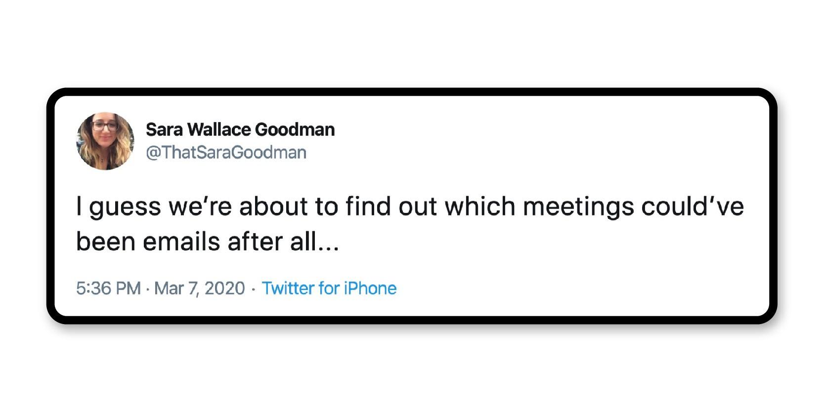 Emails vs. meetings