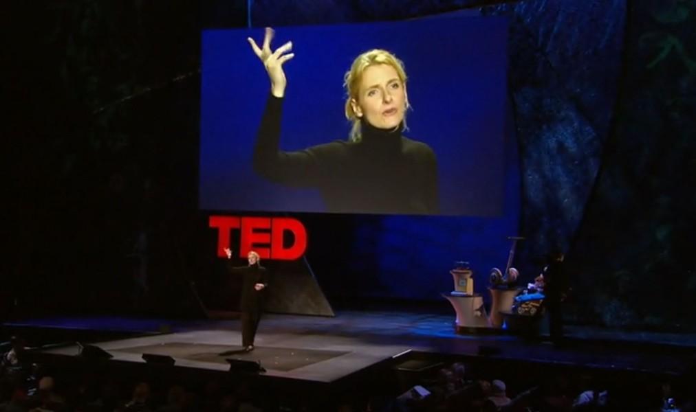 Elizabeth Gilbert at her TED Talk