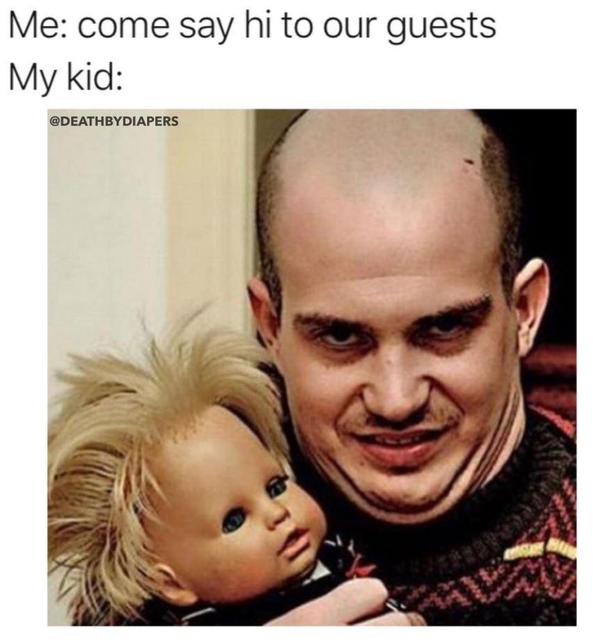 Scary kid meme