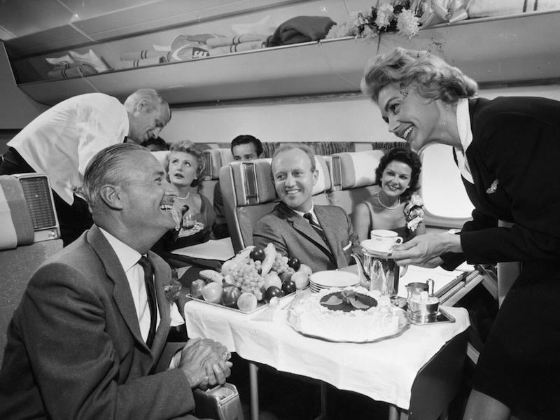 SAS vintage flight photo