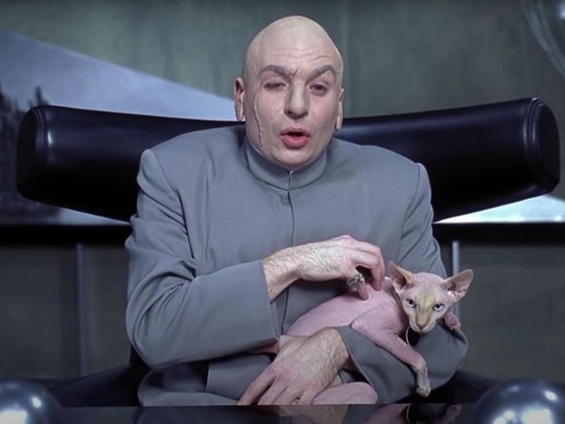 Ted Nude-gent (aka Mr. Bigglesworth)