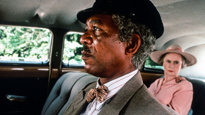 Morgan Freeman and Jessica Tandy in Driving Miss Daisy (1989)