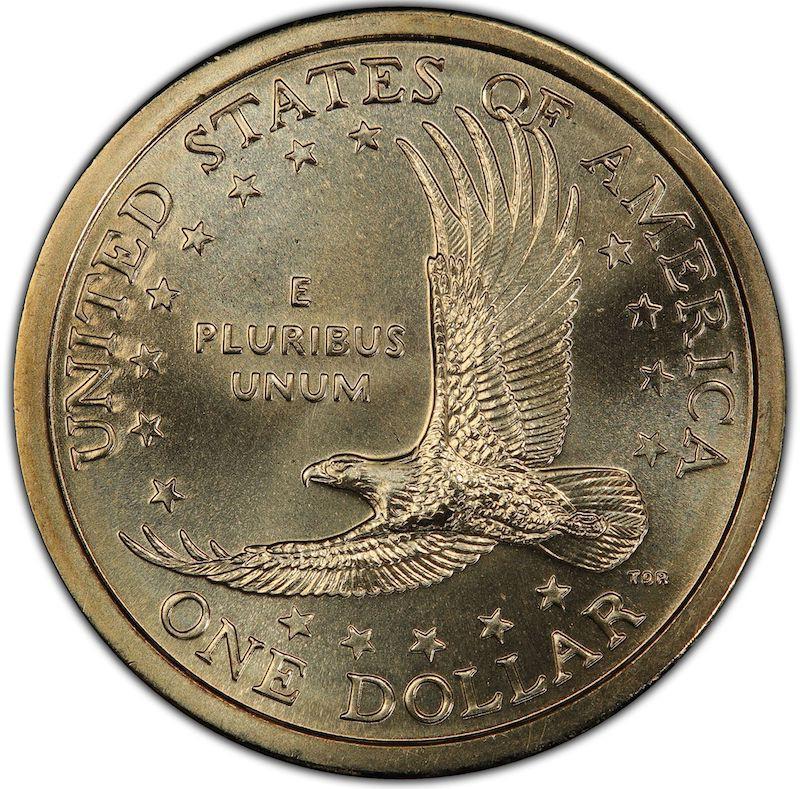 2000-P U.S. 'Cheerios' Sacagawea Dollar