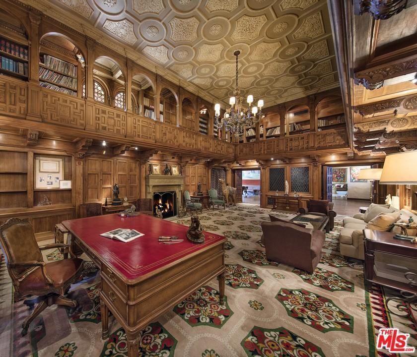 Art Deco library