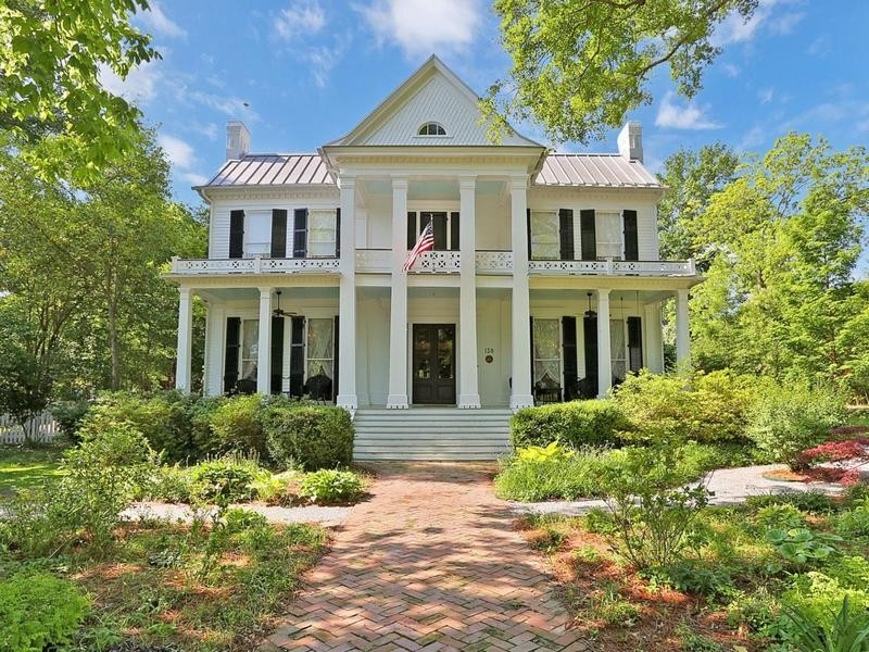 Priestly House in Canton, Mississippi