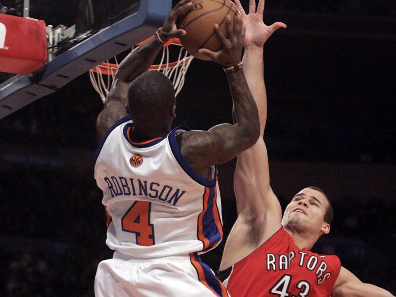 Toronto Raptors forward Kris Humphries