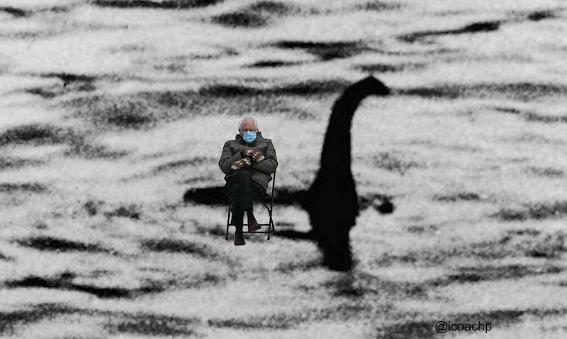 Bernie Sanders and Loch Ness Monster