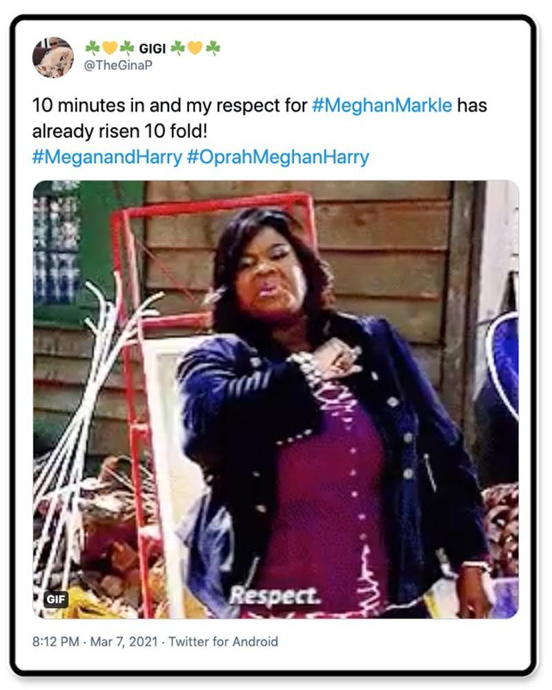 Respect for Meghan