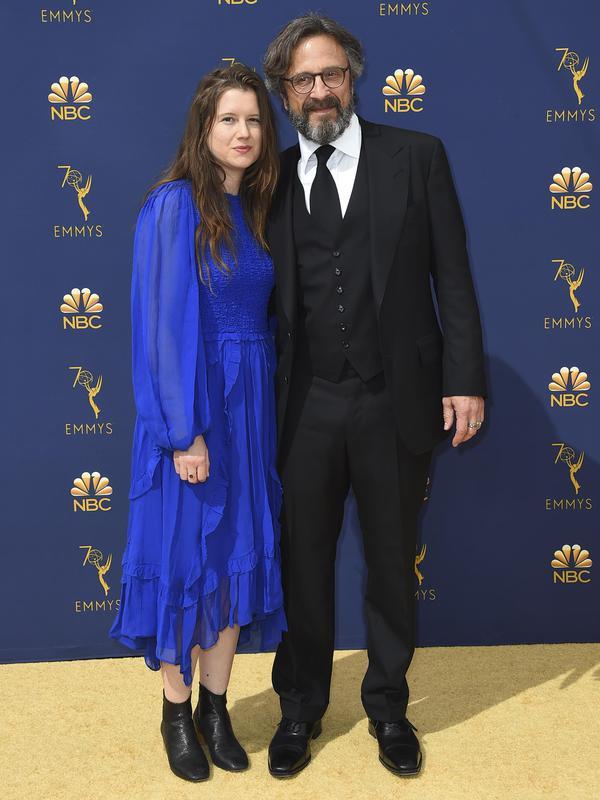 Sarah Cain & Marc Maron