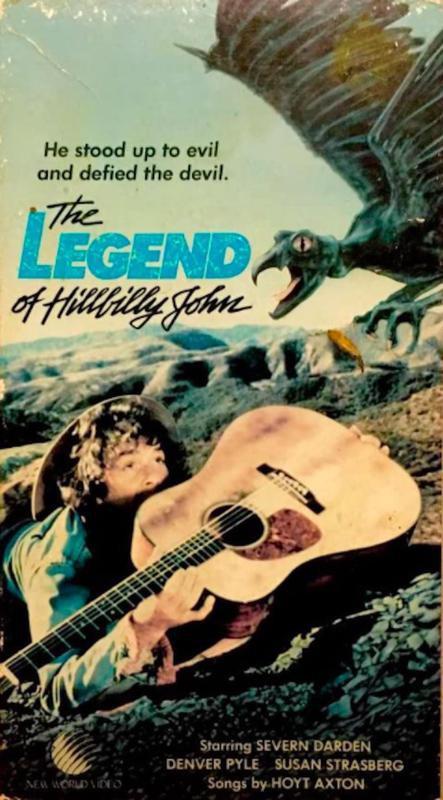 The Legend of Hillbilly John VHS tape