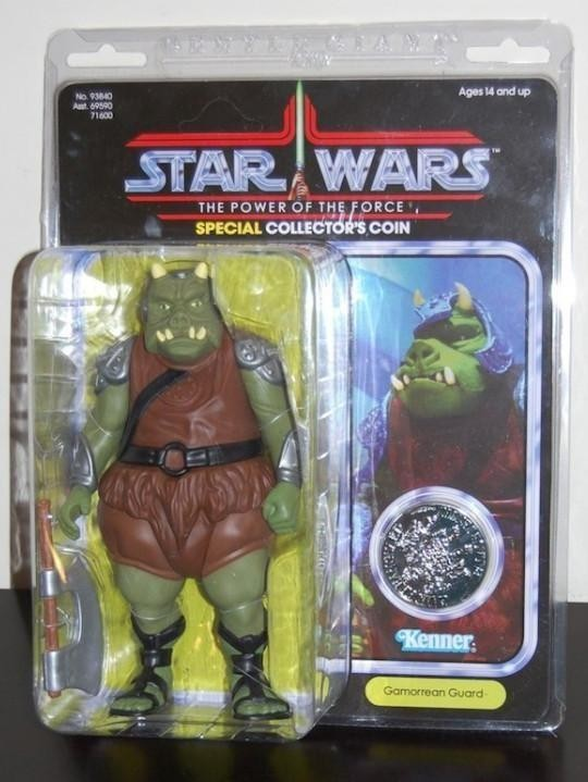 Gamorrean Guard With Collectors Coin (1985)