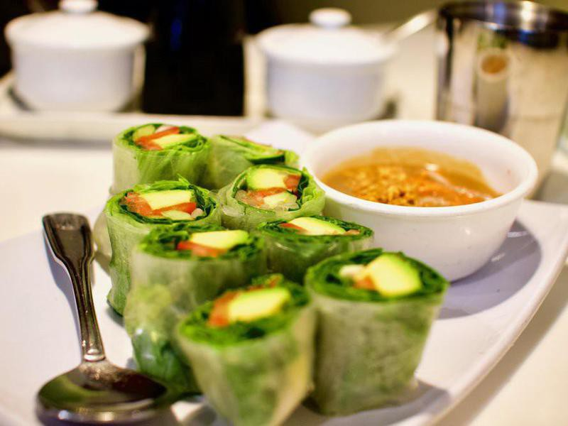 Golden Era Vegan Restaurant food