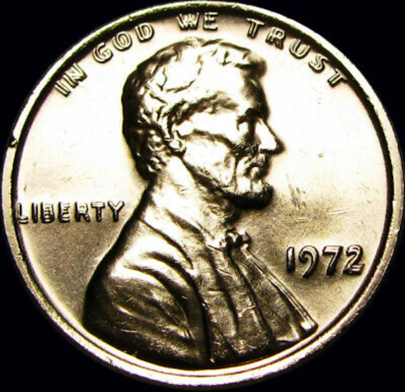 1972 Lincoln Memorial Cent (Doubled Die Obverse)