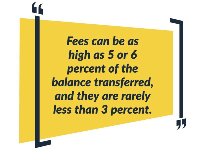beware of fees