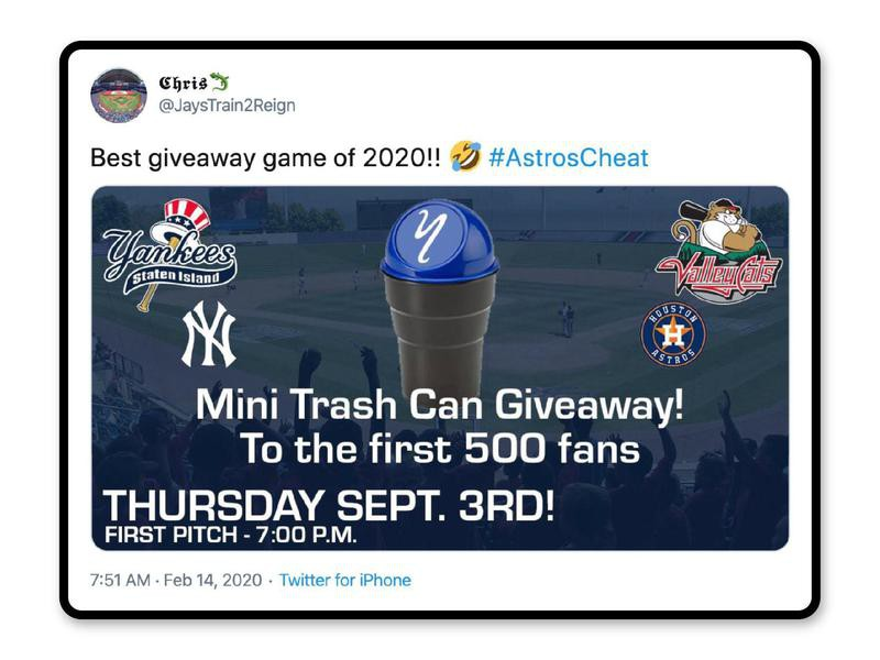 Trash cans giveaway
