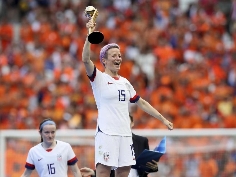 Megan Rapinoe Women's World Cup