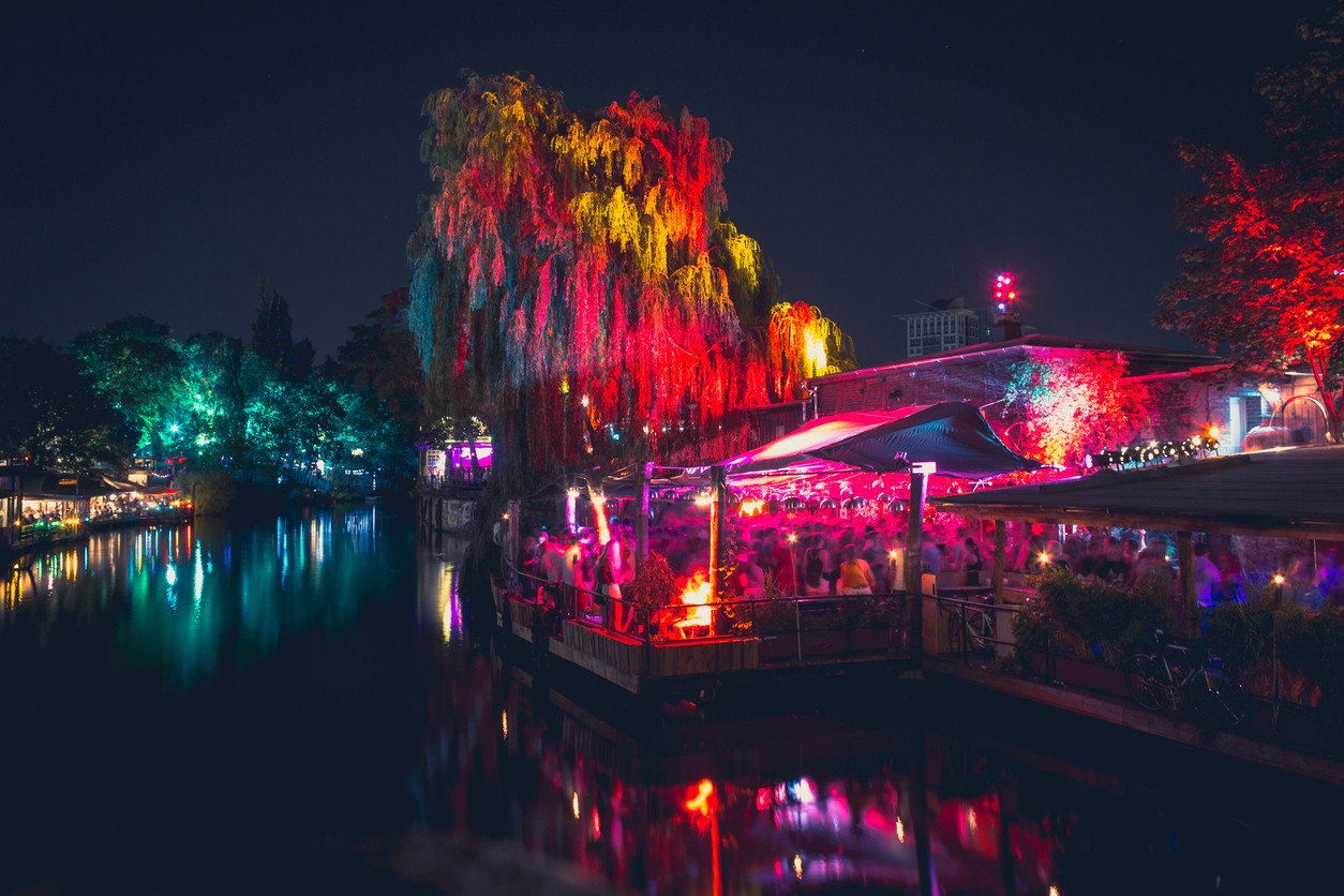 Berlin nightclub scene