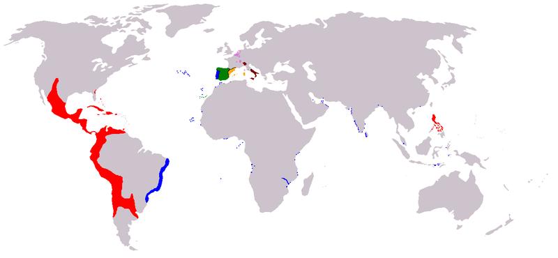 Iberian Union map