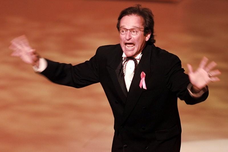 Robin Williams hosting