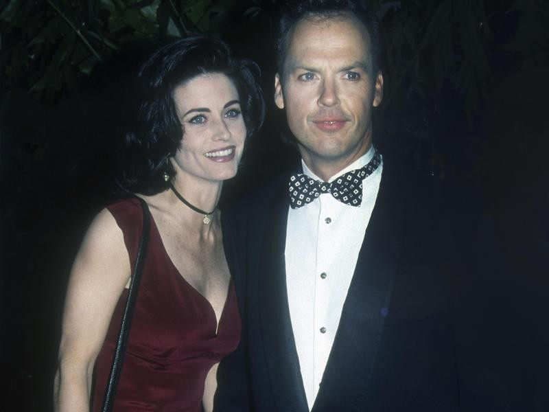 Courteney Cox and Michael Keaton