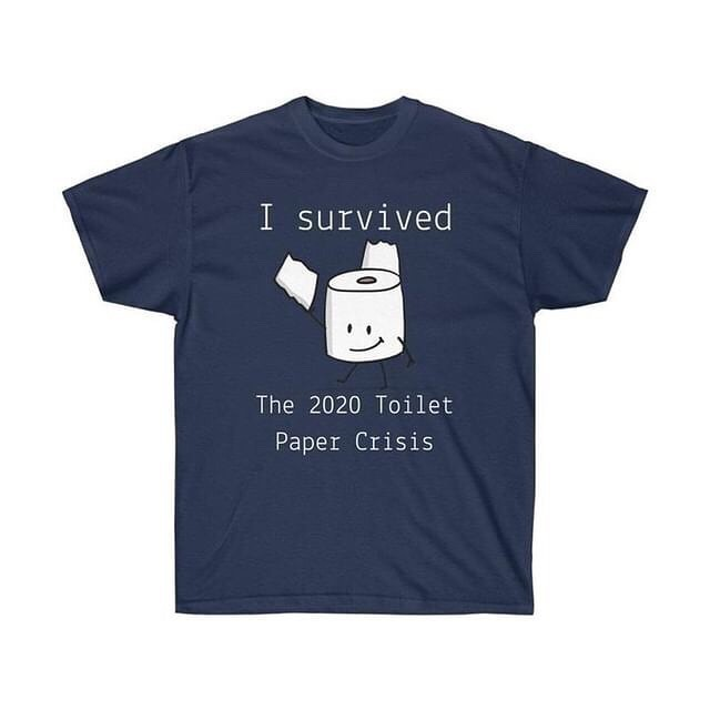 Funny Toilet Paper T-shirts