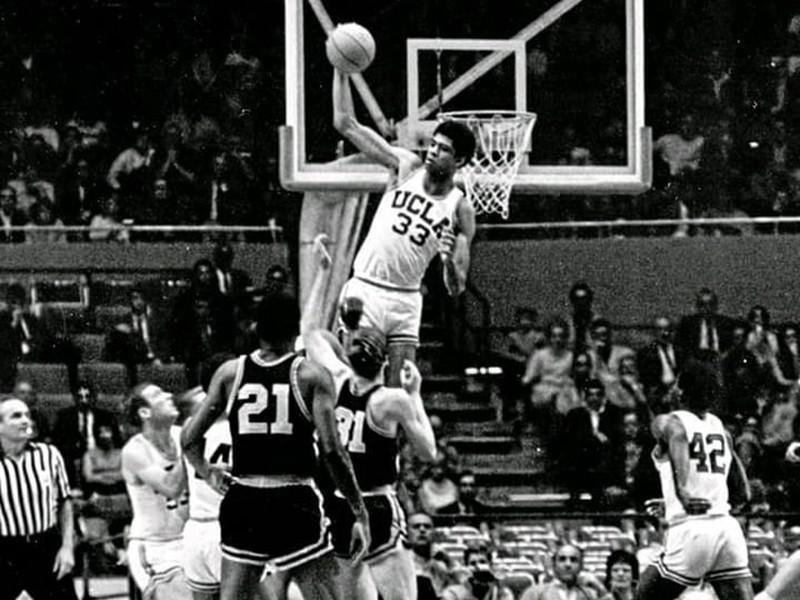 Lew Alcindor at UCLA