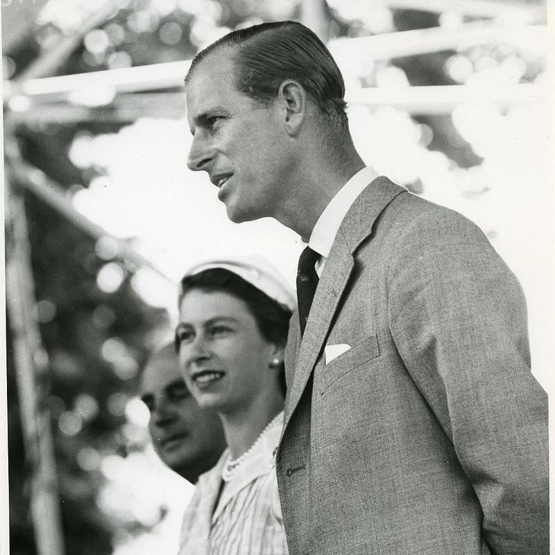 Queen Elizabeth and Prince Philip in New Zealand