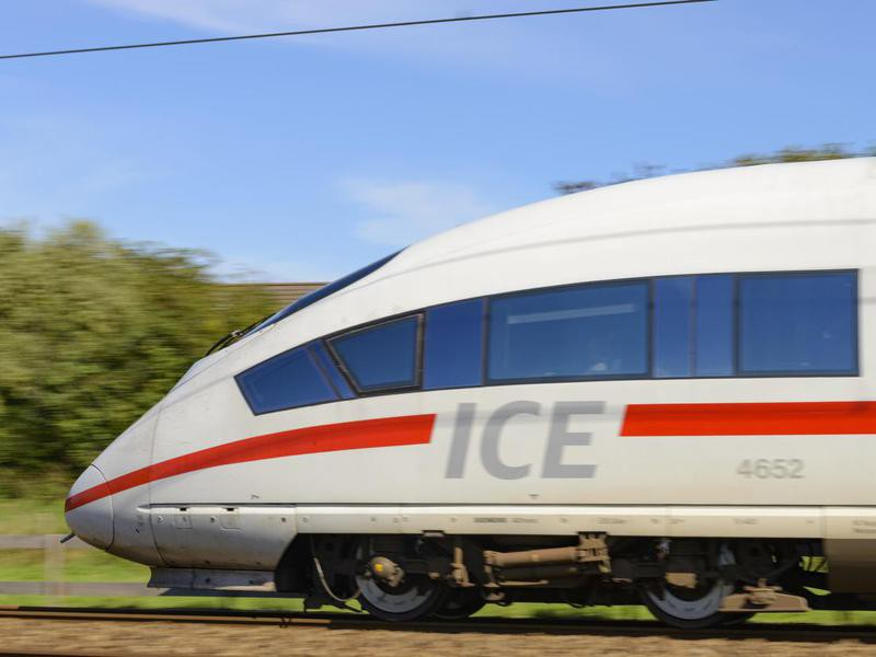 ICE high-speed train in the Netherlands
