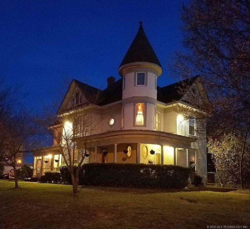 Turret House in Muskogee, Oklahoma