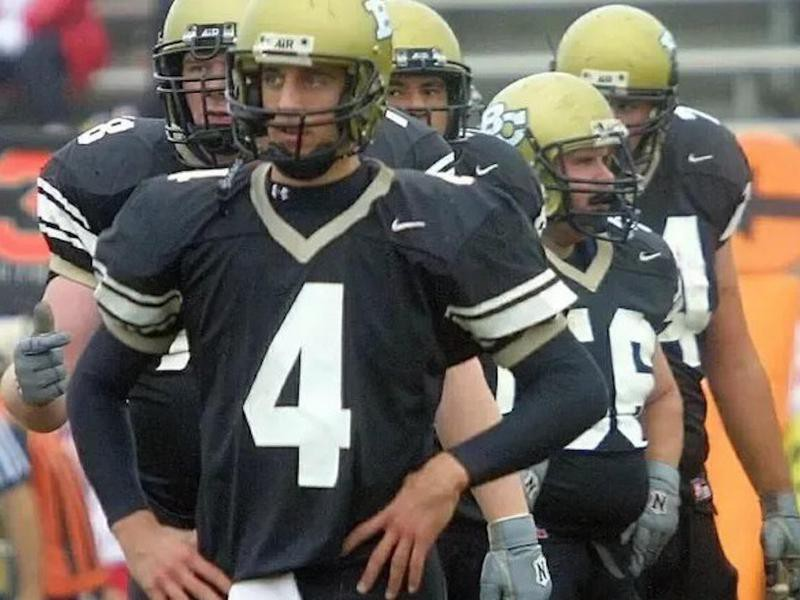 Aaron Rodgers at Butte Community College