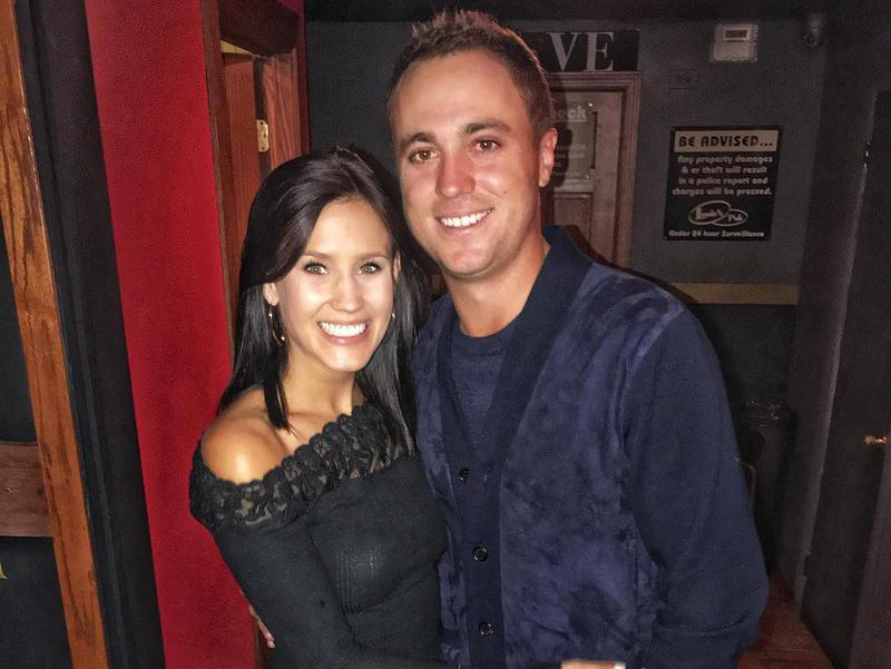 Justin Thomas and Jillian Grace Wisniewski