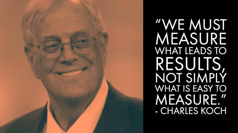 Charles Koch Money Advice