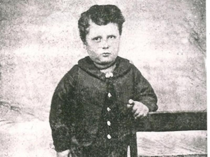 Martin Van Buren as a toddler in the late 1830s