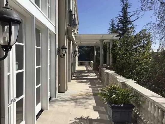 Elon Musk house in Bel Air