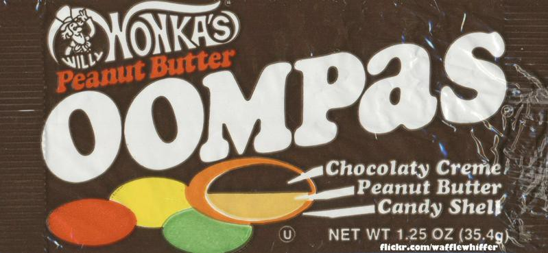 Willy Wonka's Peanut Butter Oompas