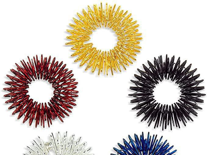 Acupressure Ring Fidget Jewelry
