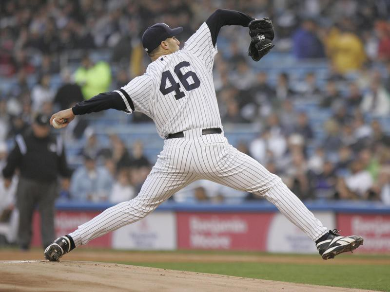 AnNew York Yankees' Andy Pettitte pitches against the Boston Red Sox