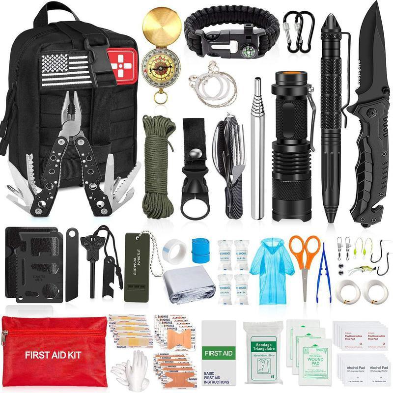 Camping survival kit