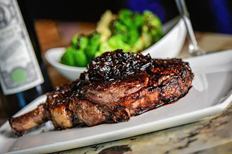 Tomahawk Ribeye steaks