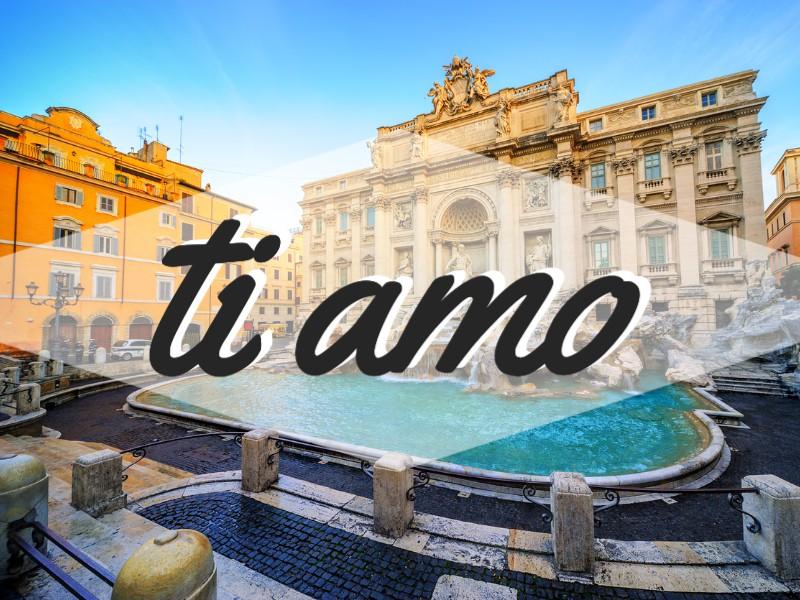'I Love You' in Italian