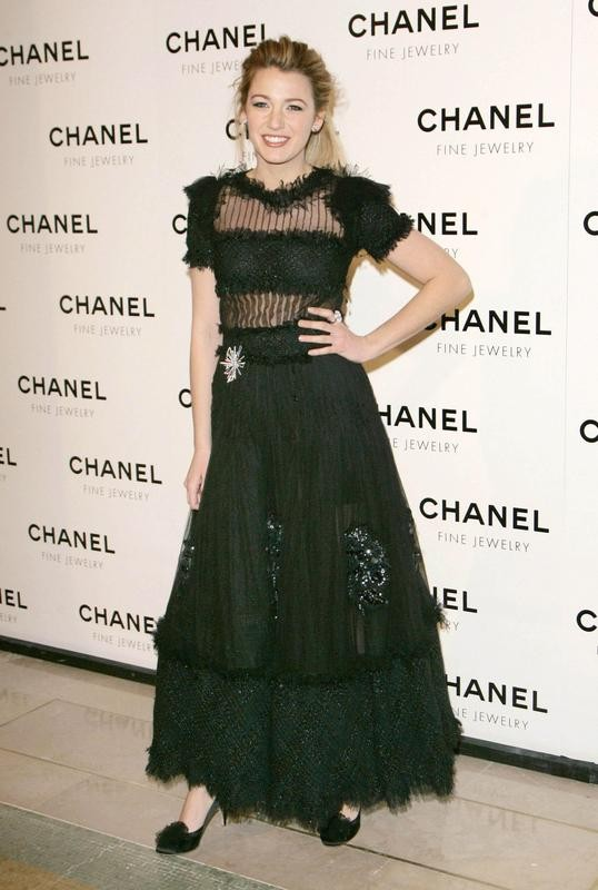 """Blake Lively style at """"A Night of Diamonds"""" dinner at The Plaza"""
