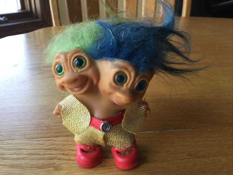 Two-Headed Troll Doll