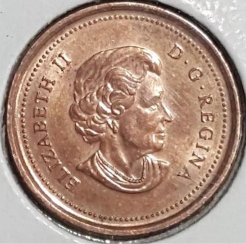 2006 Canadian Magnetic No Logo/No P Penny